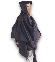 Poncho with seatpillow